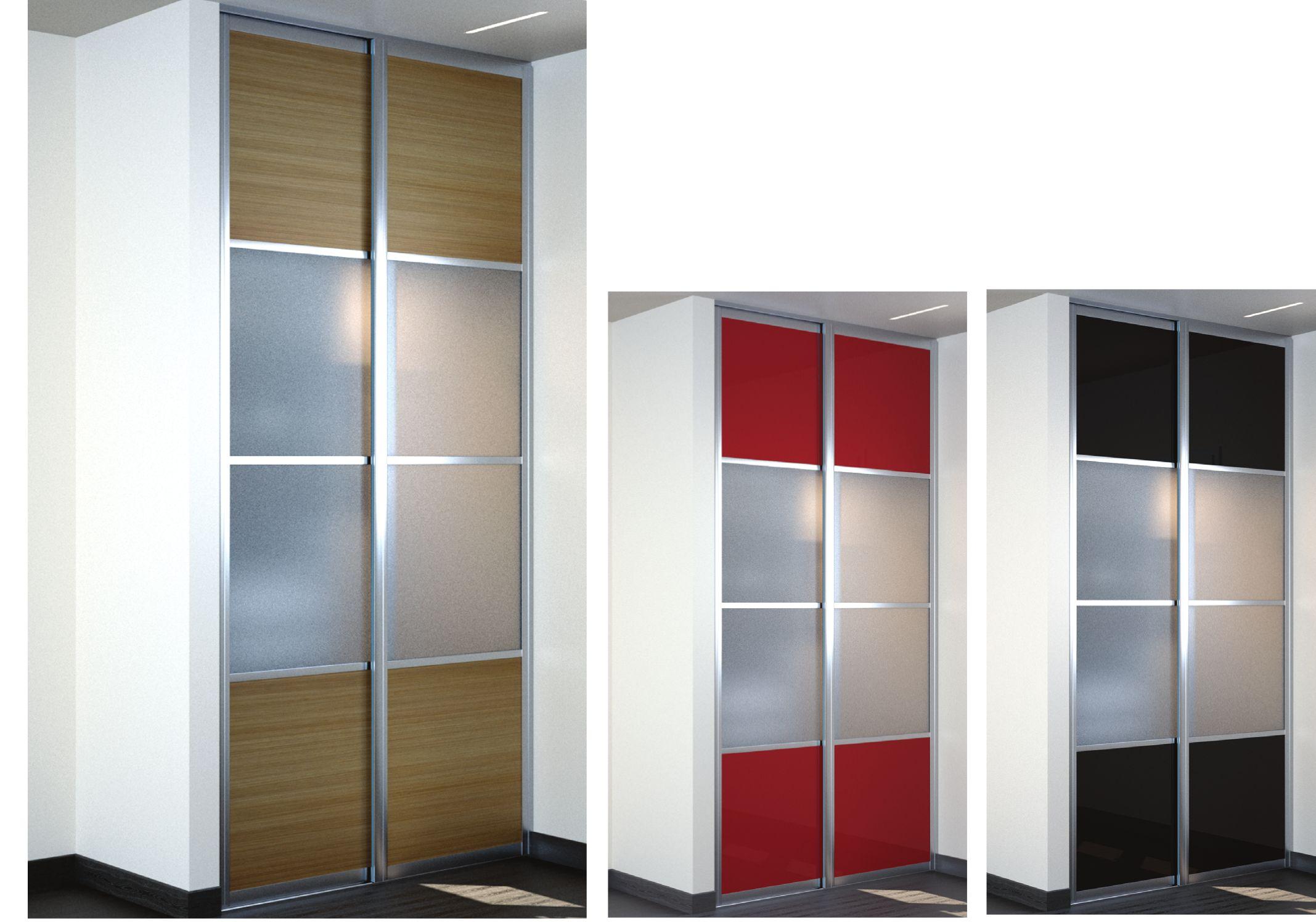 notre habitat plus styl avec une porte coulissante placard sur mesure. Black Bedroom Furniture Sets. Home Design Ideas