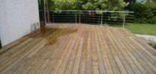 Une belle occasion de retaper la terrasse